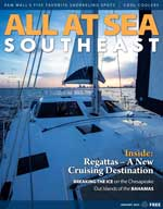 All At Sea - The Southeast's Waterfront Magazine - January 2015