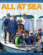All At Sea - The Southeast's Waterfront Magazine - May 2015