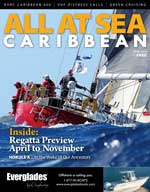 All At Sea - The Caribbean's Waterfront Magazine - April 2016