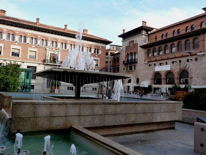 Teruel ayer y hoy - Plaza de San Juan - AlláVamos - Turismo en ...