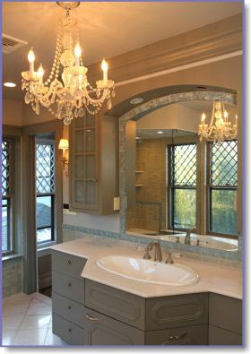 Bathroom Lighting And Mirrors Design