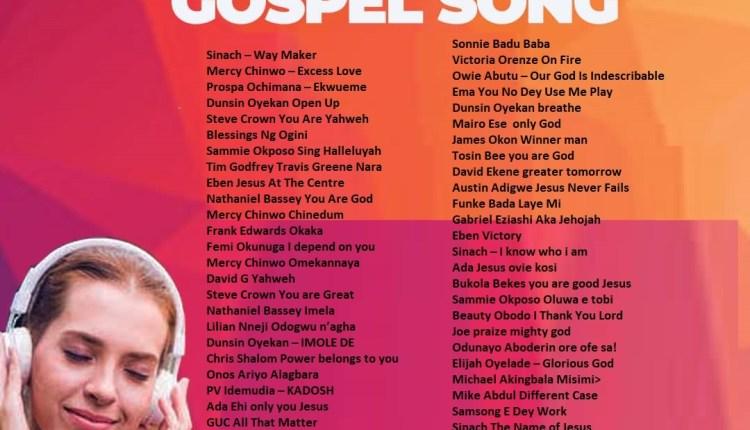 Most Popular Gospel Songs In Nigeria