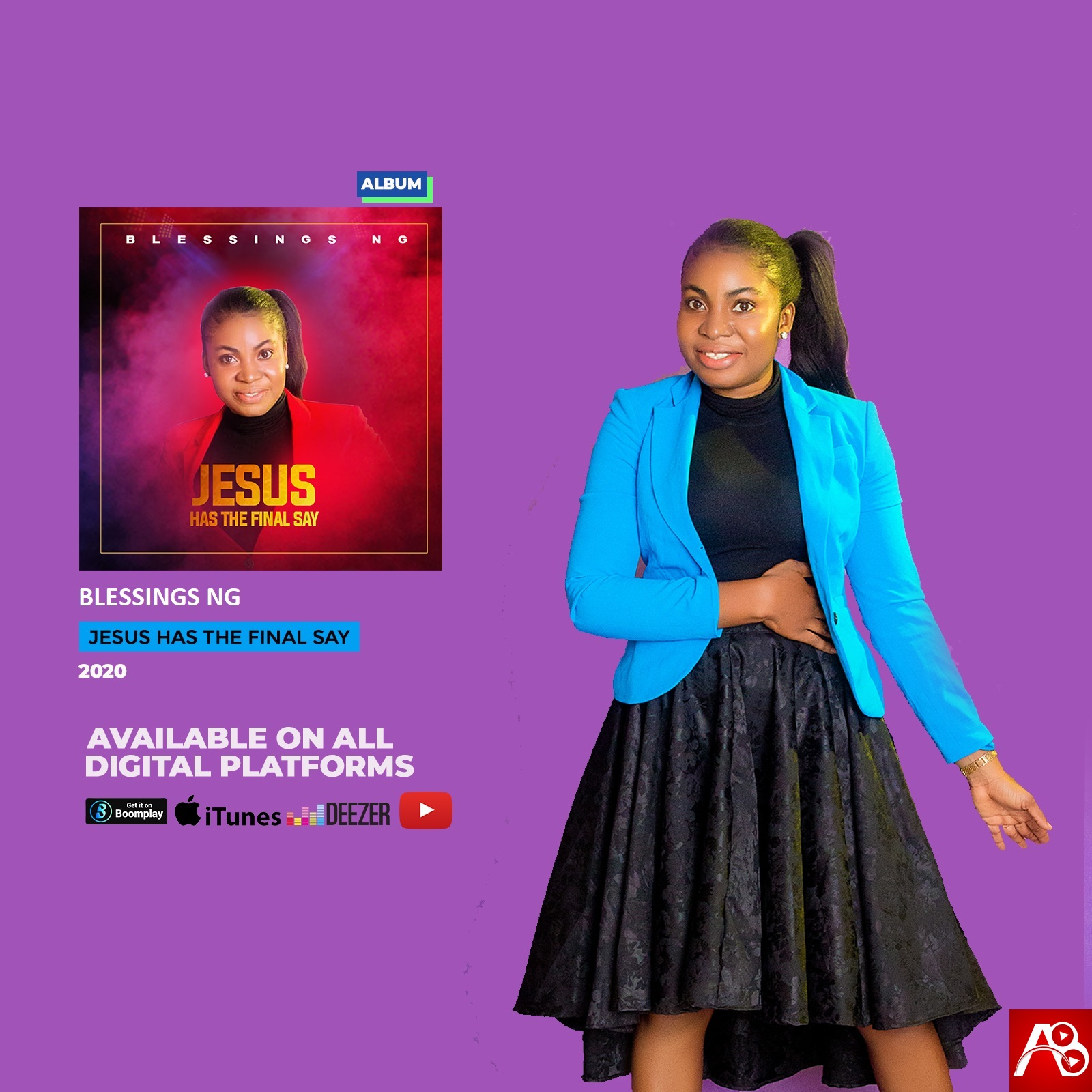 Blessings Ng Drops Her Debut Album Tagged Jesus Has The Final Say