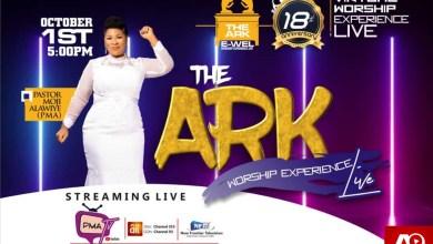 "Moji Alawiye PMA Presents ""The Ark"" Worship Experience Oct.1st"