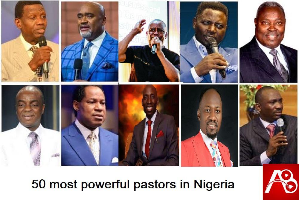 50 most powerful pastors in Nigeria