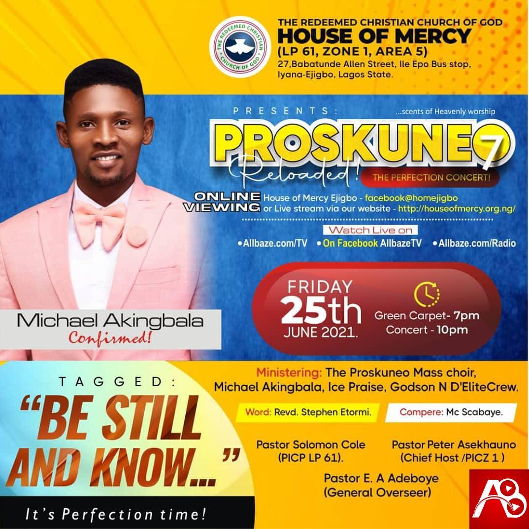 Rccg House Of Mercy presents Proskuneo