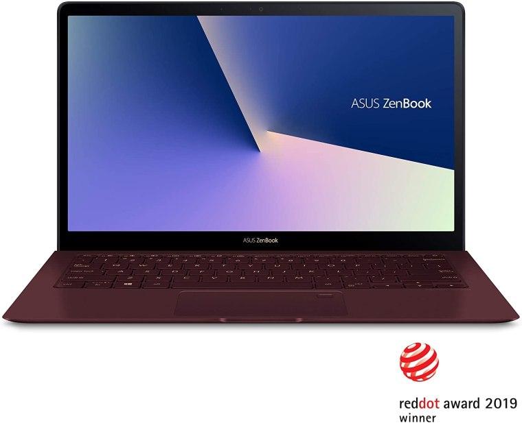 Asus ZenBook S Red Laptop