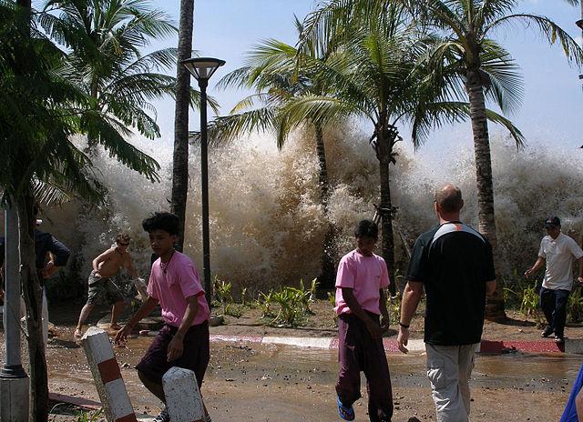 2004 American indian Ocean Tsunam