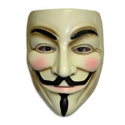 Guy Fawkes V for Vendetta Anonymous