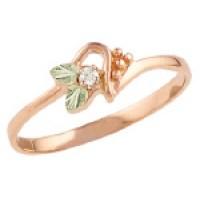 Rose Gold Ladies Rings by Landstroms