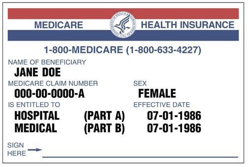Pharmacy Insurance Card