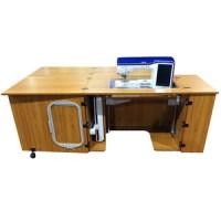 "Sylvia Design 2400 Sewing Cabinet 78x30"" +Large Cutout 28 ..."