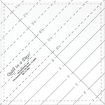 Ruler Templates for Ruler Foot Guided Free Motion Quilting