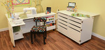 Furniture and Cabinets for Sewing Room