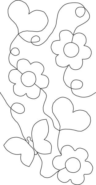 Amélie Scott Designs ASD201 Edge to Edge Quilting on your
