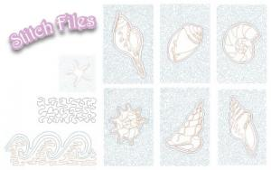 Designs Machine Embroidery 1Step Quilting Applique Stipple