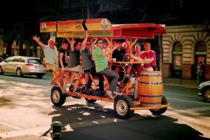 Beer Bike  AllBudapestHotelscom