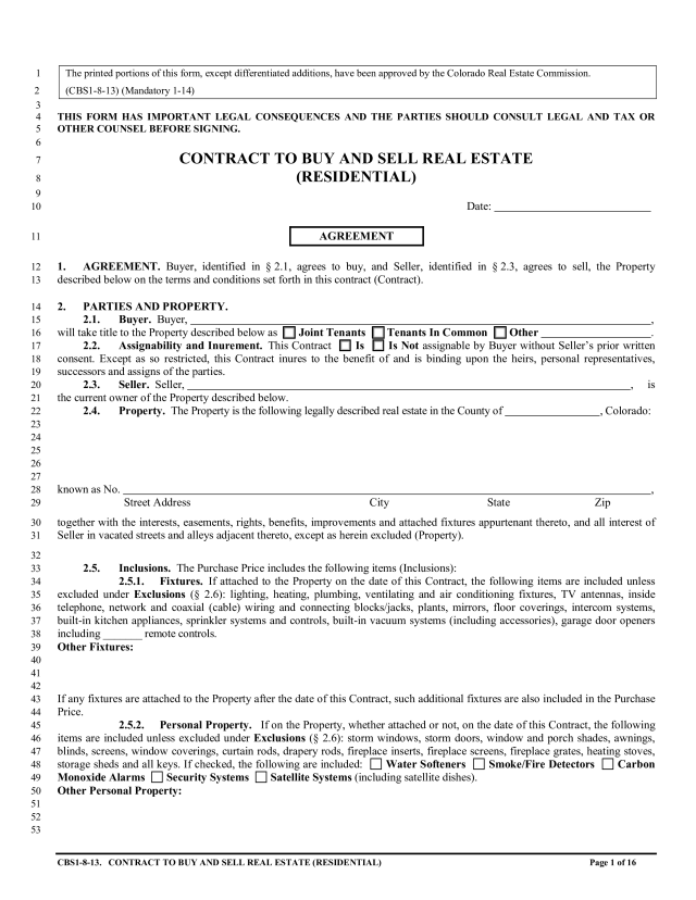 Real Estate Contracts For Sale By Owner  Templates at