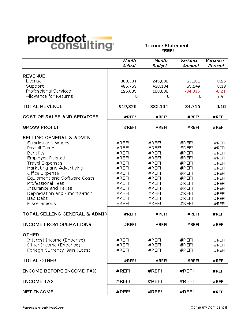 Monthly Income Statement Excel   Templates at allbusinesstemplates.com