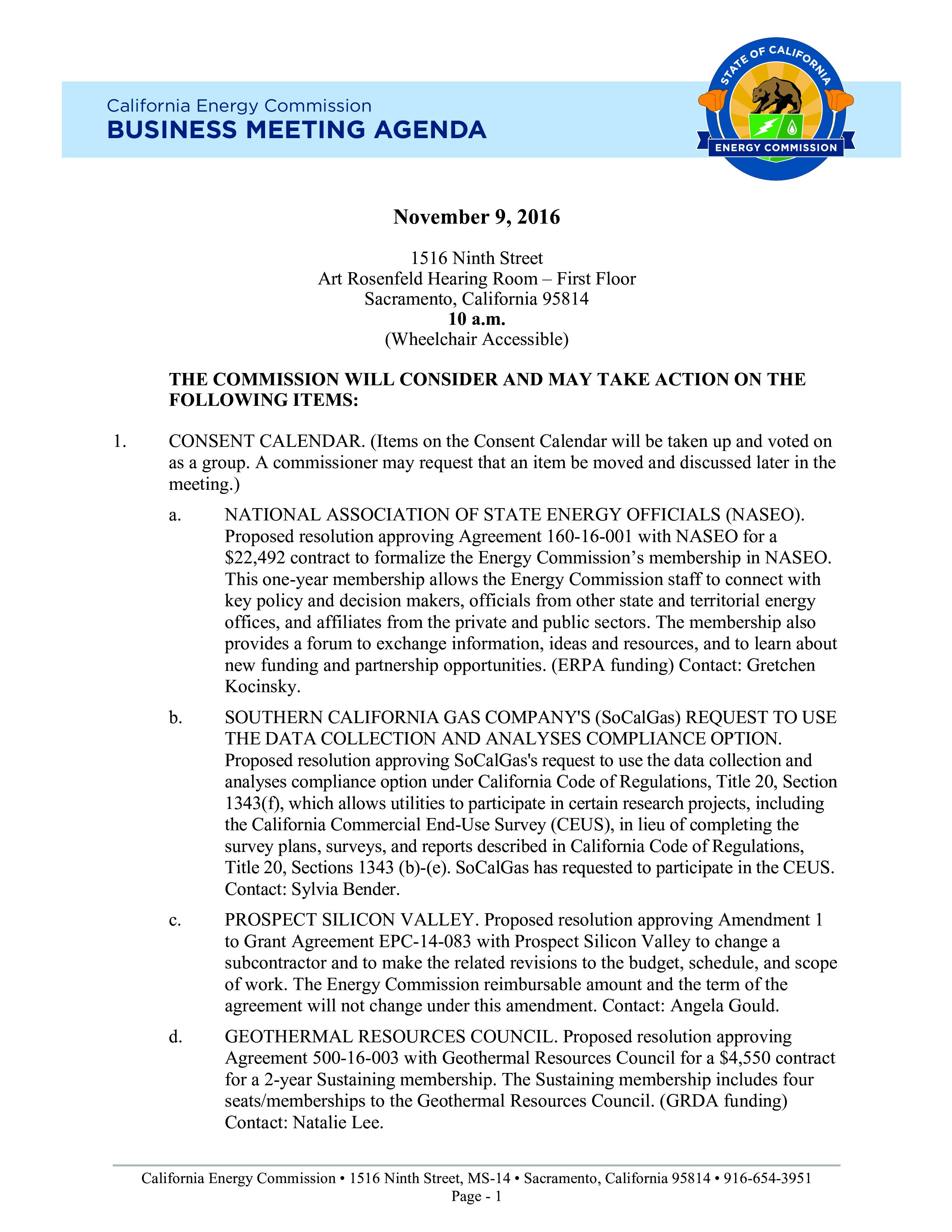 Business Meeting Agenda Format Main Image