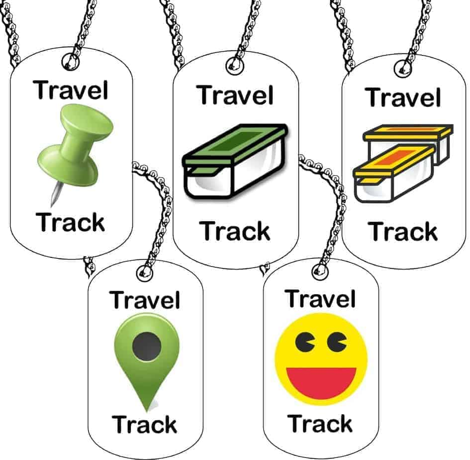 Trackable Tag For Geocaching Geo Logos Unactivated