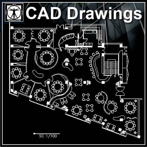 Restaurant Kitchen Layout Autocad: Free Cad Blocks & Drawings Download