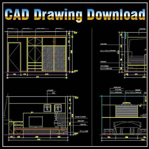 Master Room Design Template Free Cad Blocks Drawings