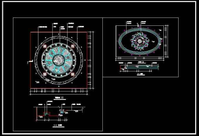 Ceiling Design Template】★ Free Cad Blocks Amp Drawings