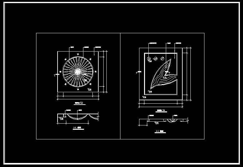 Ceiling Design Template】★ - Free Autocad Blocks & Drawings ...