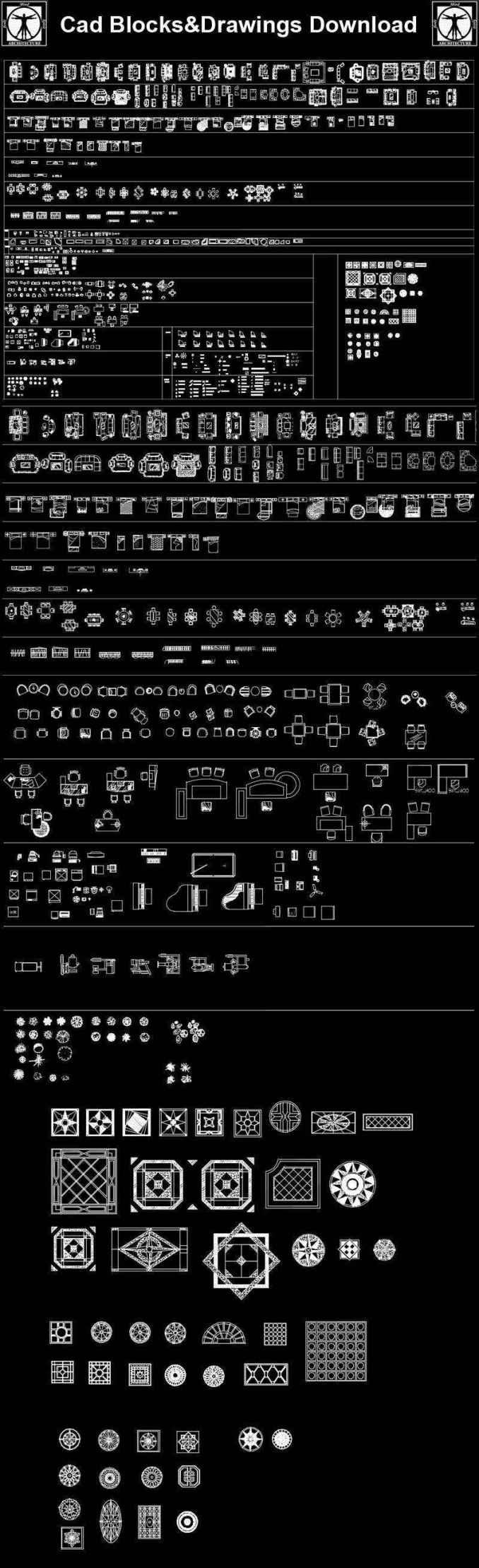 Interior Design Cad Collection Download Cad Blocks Drawings Details 3d Psd Blocks