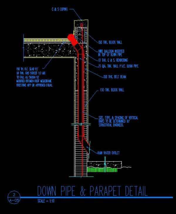 ★【Ridge Eave & Parapet Details】★