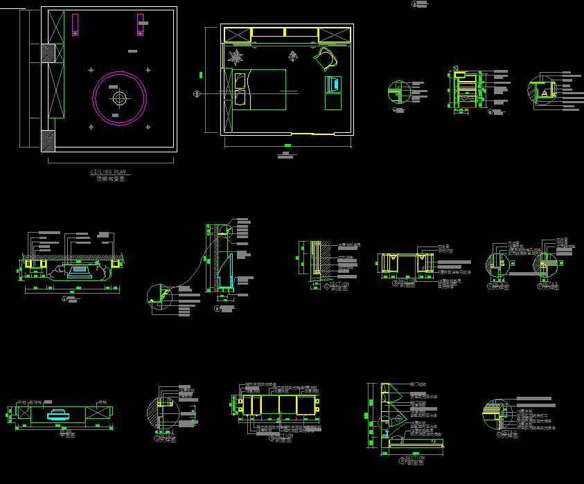 Interior design details free cad blocks drawings for Interior design drawings free download