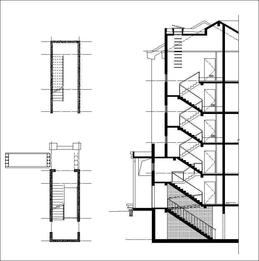 Free stair elevation cad 2 free cad blocks drawings for Online cad drawing