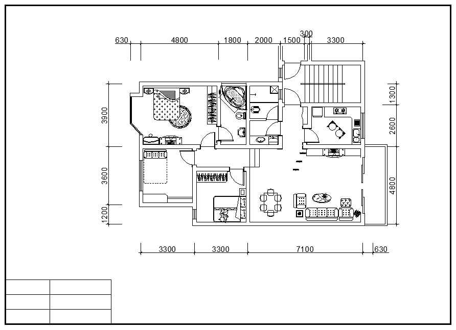 Residential construction drawings bundle download cad for Residential building plans dwg