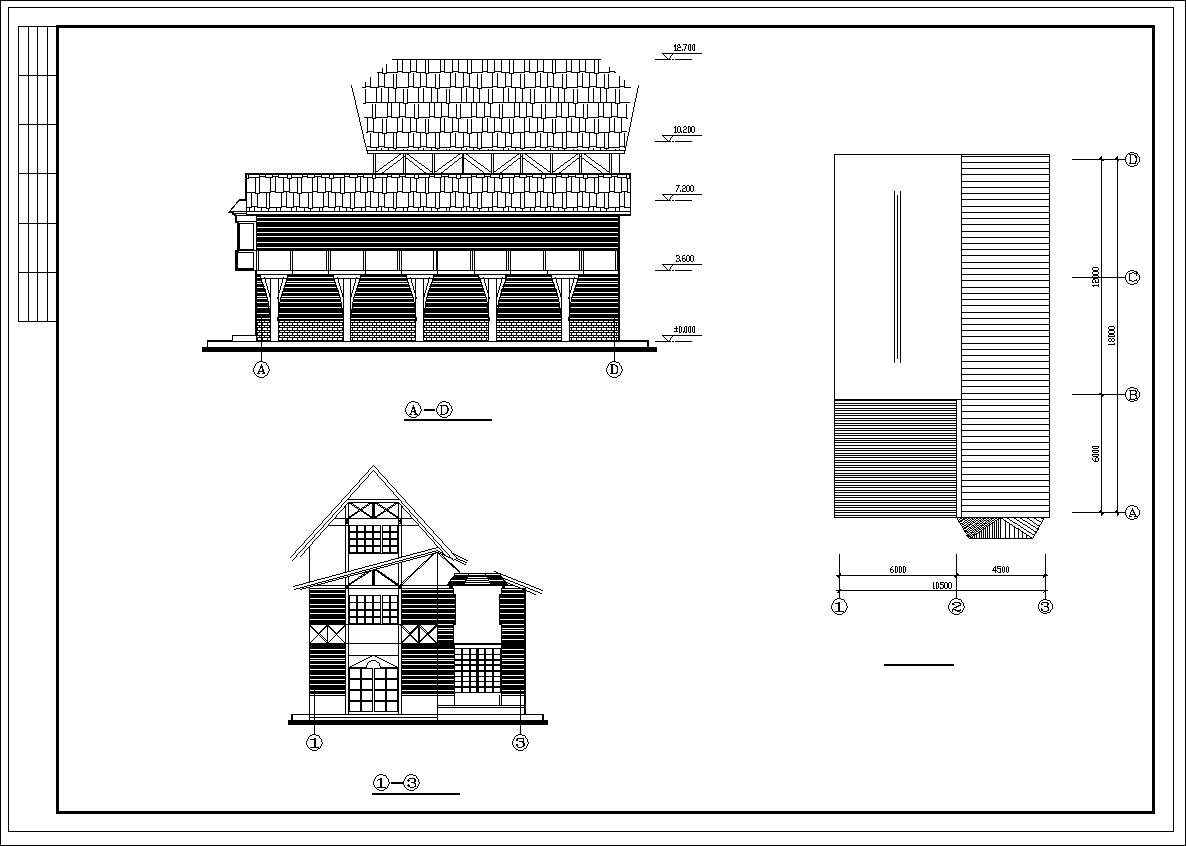 Dream French Town Drawings Free Cad Blocks Drawings