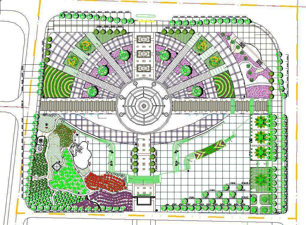 Residential Landscape Design 18 - Free Autocad Blocks ...