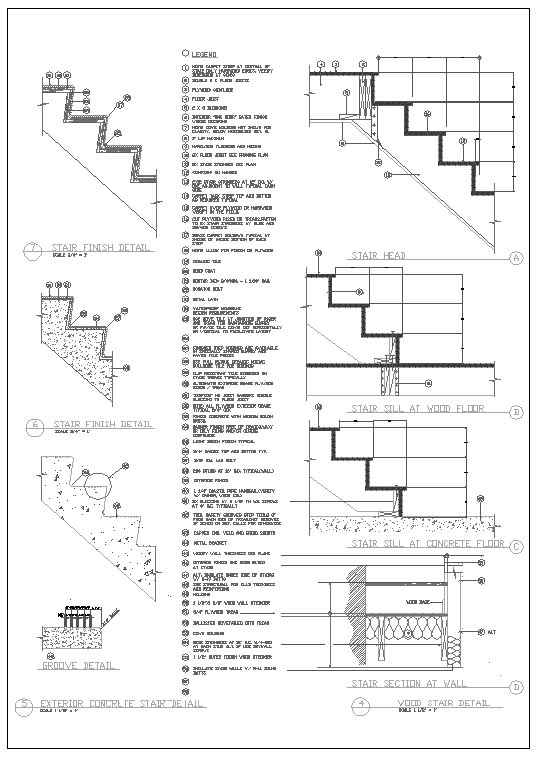 Ornamental Stair Parts Download Autocad Blocks Drawings
