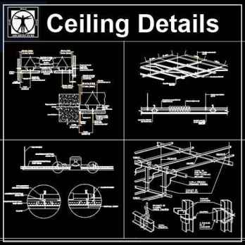 Ceiling Design Free Autocad Blocks Amp Drawings Download