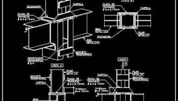 Steel Structure Details 3 – Free Autocad Blocks & Drawings