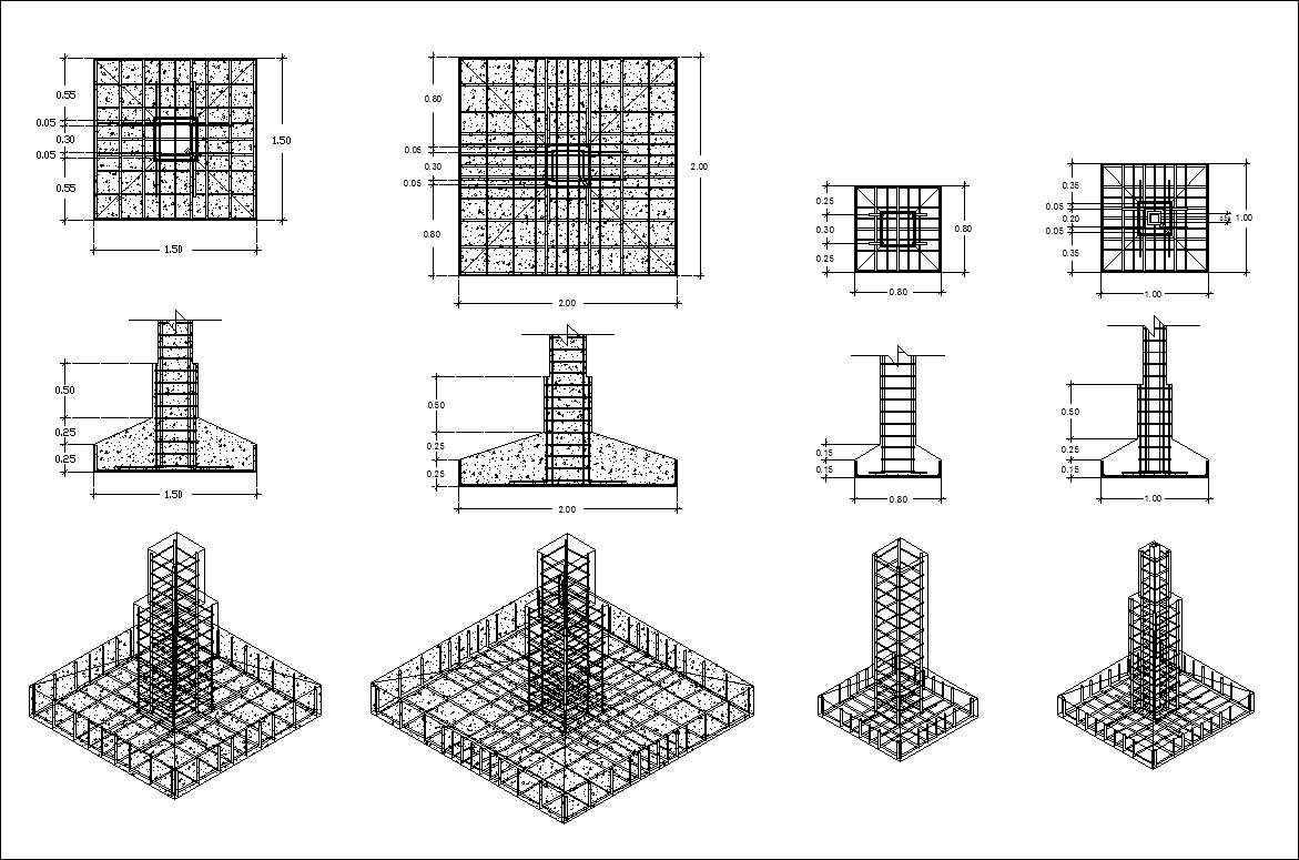 Free Concrete Structure Details 1