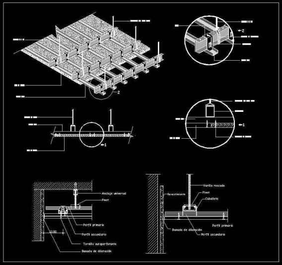 Free Ceiling Details 1 Free Autocad Blocks Drawings