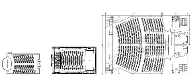 dwg templates free download - free auditorium plan free cad blocks drawings download