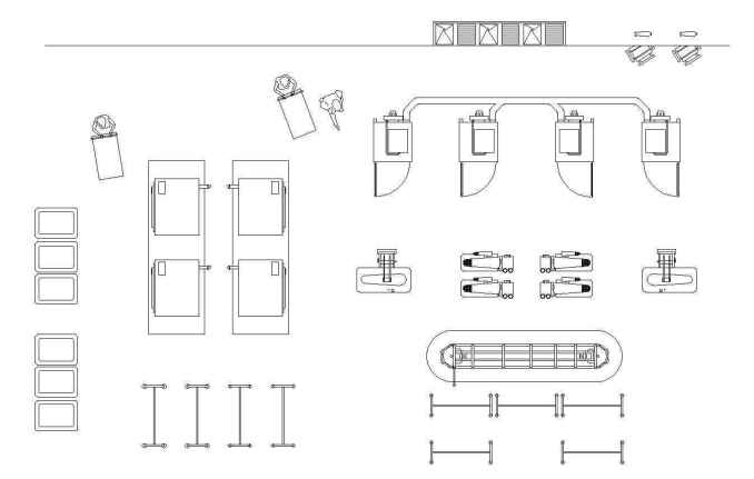 Laundry Plan Design Download Cad Blocks Drawings Details