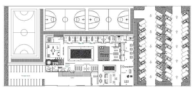 Stadium plans free cad blocks drawings download center for Interior design drawings free download