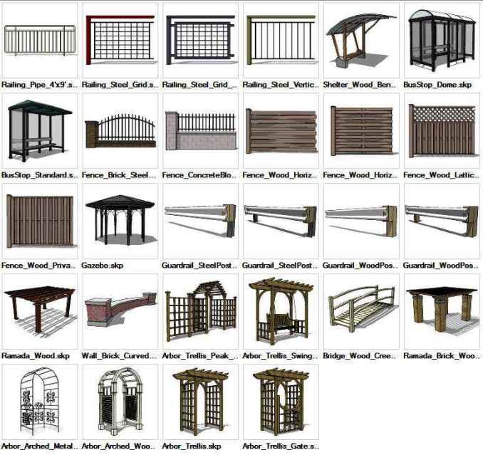 Sketchup Built Constructions 3d Models Download Free Cad