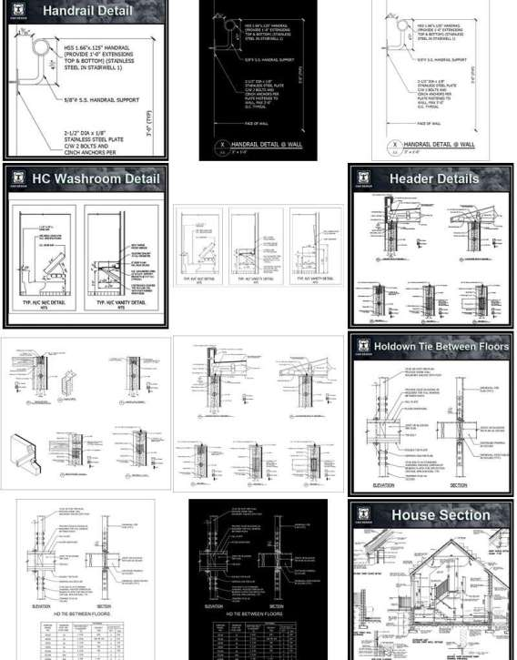 115 Best Interior Design CAD Details