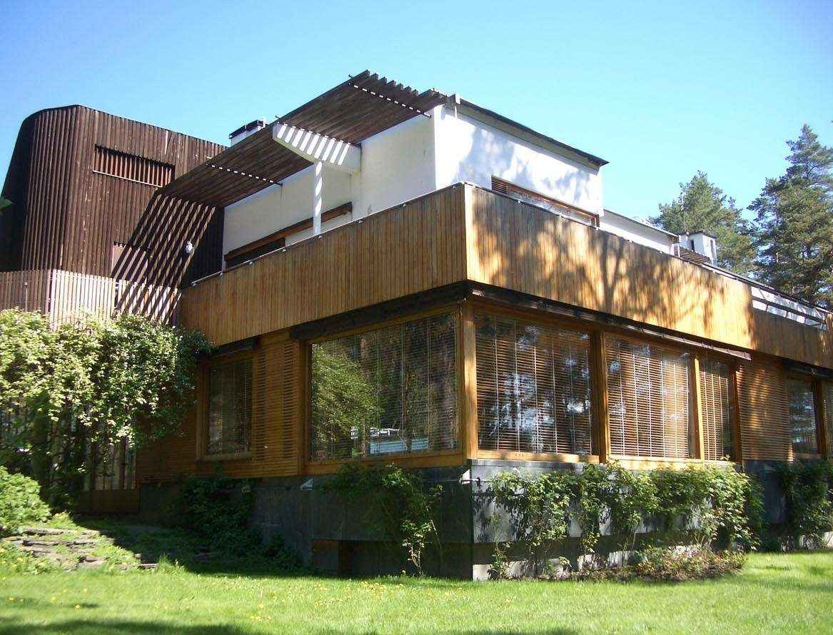 Home Interior Painting Ideas Villa Mairea Alvar Aalto Free Cad Blocks Amp Drawings