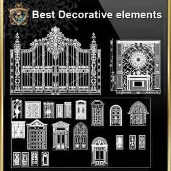 【Interior Design Full CAD Blocks Collections】(Best Collections!!)