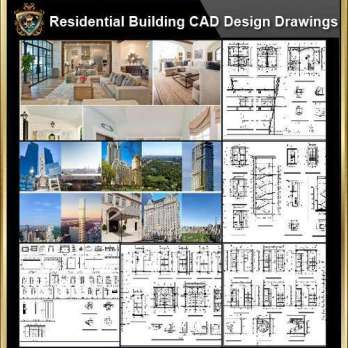 ★【Residential Building CAD Details Collection V.2】