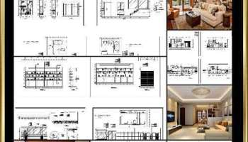 ☆【Interior Design CAD Design,Details,Elevation Collection ...